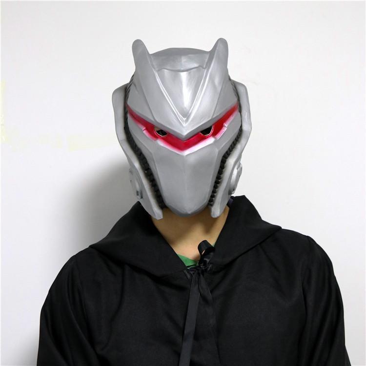 Fortnite Omega Cosplay Latex Mask Costume Prop Helmet Valak Scary
