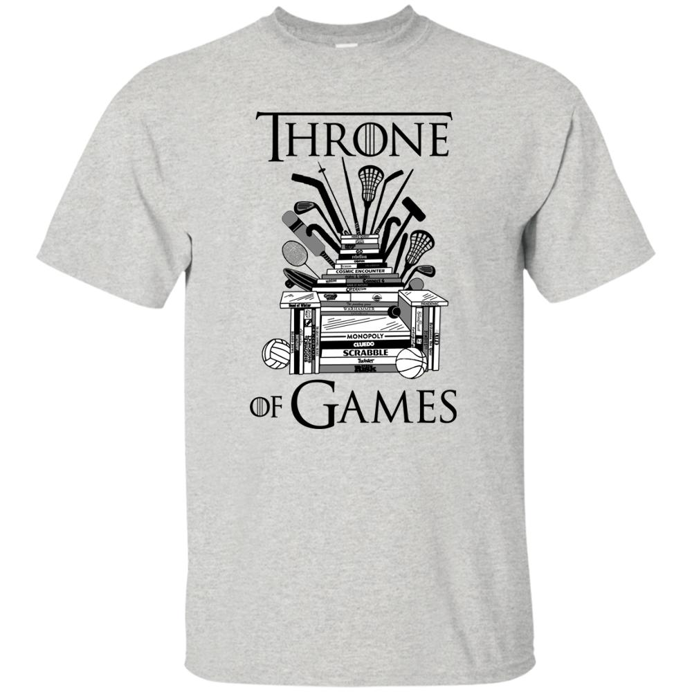 cfc625e07a Throne Of Games Funny T Shirt Game Thrones Iron Sport Board Snow Lannister  GoT Funny Unisex Designs Shirts Interesting T Shirt Designs From Fantees,  ...