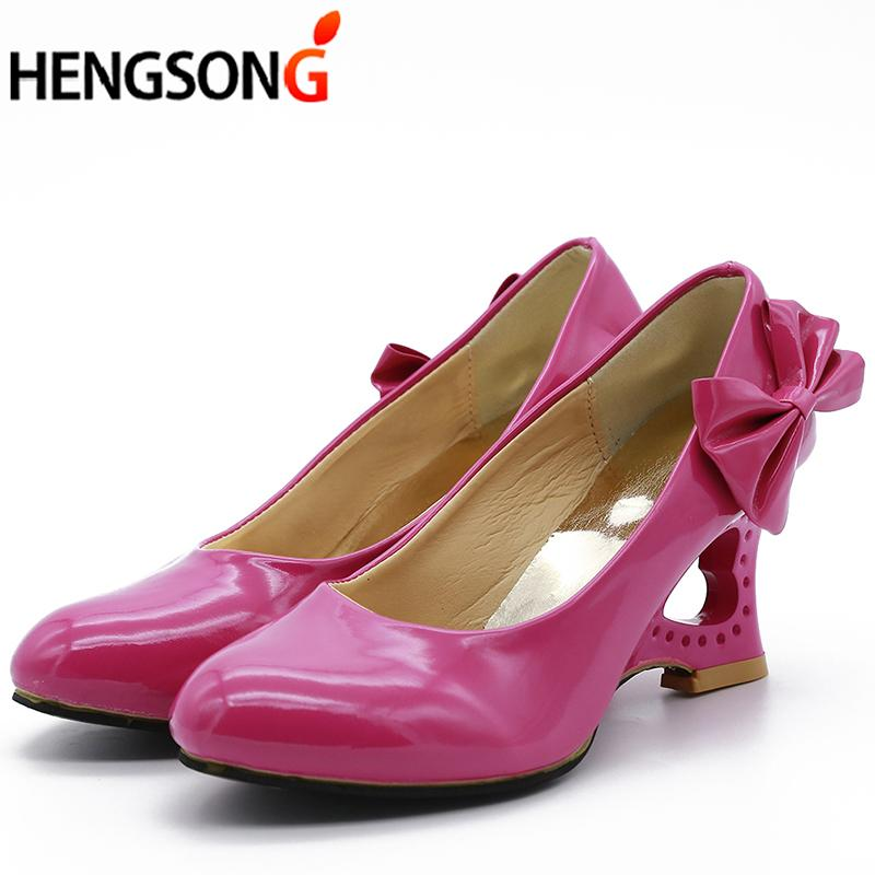 2019 Ladies Stiletto Big Size 35 43 Womens High Heels Shoes Strange Heart  Heels Woman Pumps Bowtie Office Wedding Bridal Shoes Mens Sandals Mens  Trainers ... 87291e909b16