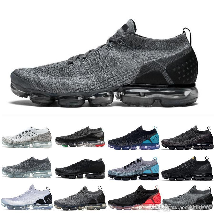 nike Vapormax air max 2019 flyknit 2019 Fly 2.0 Shoes Zapato de running Mango Crimson Pulse Be True Hombre para mujer Diseñador de calzado deportivo