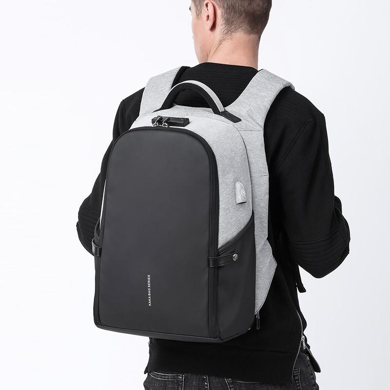 ef52c93f2edb Men Anti theft Backpack 15.6 Laptop Backpacks Teenage Backpack Schoolbag  Male Women Mochila Water repellent Large Capacity KAKA