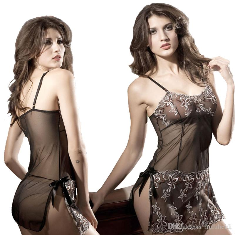0eda5be56888 Hot Style Sexy Lingerie Female Chemise Babydoll Mesh Clothes ...