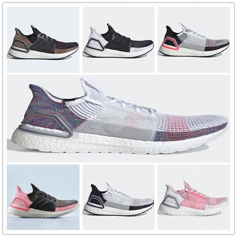 Ultra boost 2019 Multicolor Laser Red Oreo Refract Dark Pixel Shoes Men  Women Ultra boost 2019 UB 5 0 Black White Multi Sneakers