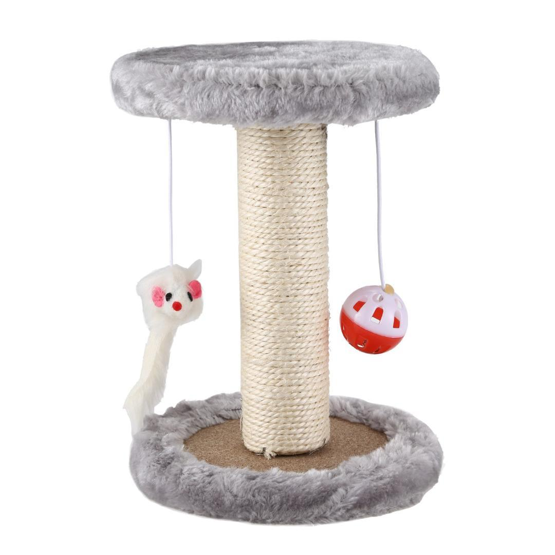 598e0cfadc44 2019 Hot Cat Scratching Post With Hanging Mouse Play Toy Activity Center  Funiture House For Cat Scratching Sleeping From Sophine12, $34.87 |  DHgate.Com