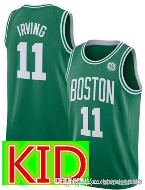 online store 2c5ba 828e2 KIDS 11 Kyrie Youth Irving 0 Tatum Celtics Jersey Youth 45 Donovan Utah  Mitchell 13 James # Harden Rockets Jerseys