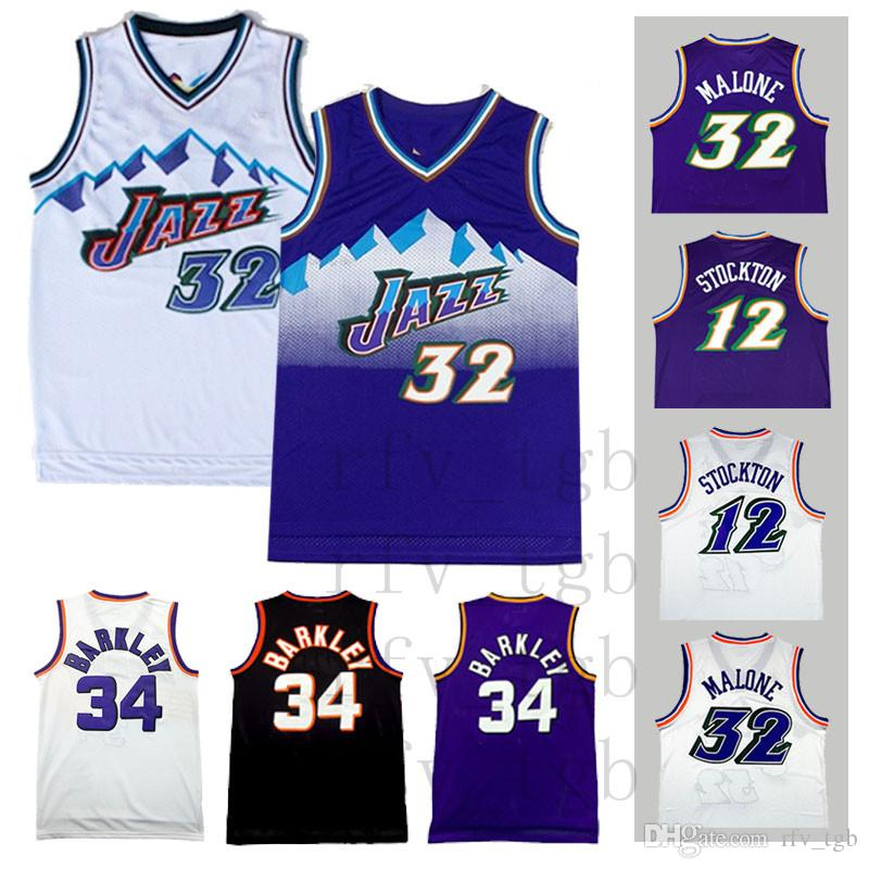the latest 1d3c0 ce0cd aliexpress utah jazz retro jersey a7a7c a787f