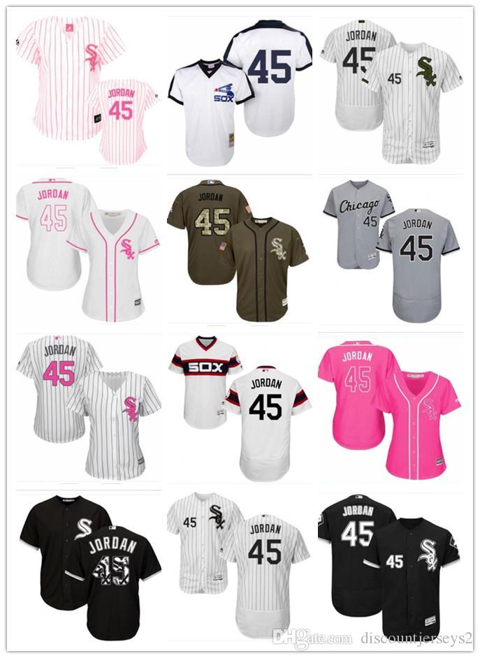 timeless design 1fcd1 175c4 2019 top White Sox Jerseys #45 Michael JordanJerseys men#WOMEN#YOUTH#Men s  Baseball Jersey Majestic Stitched Professional sportswear