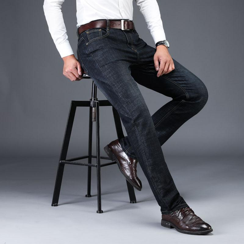 af78ae16 2019 LAOYECHE Brand Man Jeans Trousers Men Clothes 2019 New Black ...