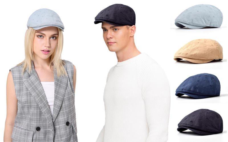 a64fb2bd270c4 2019 Stand Focus Unisex Women Men Unique Ivy Cap Newsboy Duckbill Golf  Driving Sun Flat Hat Fashion Spring Summer Fabric Jacquard Cotton Linen  From ...