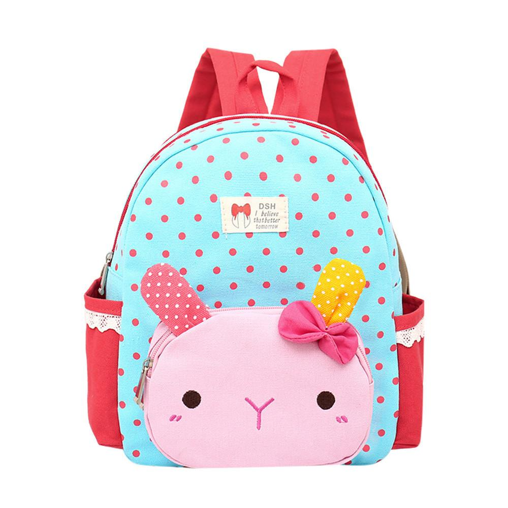 052f0589cdd6 2019 Cute Children Backpacks Baby Girls Cartoon School Bags Boys Kids  Lovely Rabbit Animal Backpack Toddler School Bag For Girls Girl Backpacks  Toddler ...
