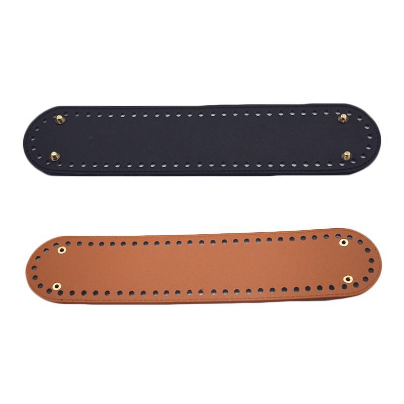 дно для вязания сумка лакированная кожа сумка аксессуары овальное дно с
