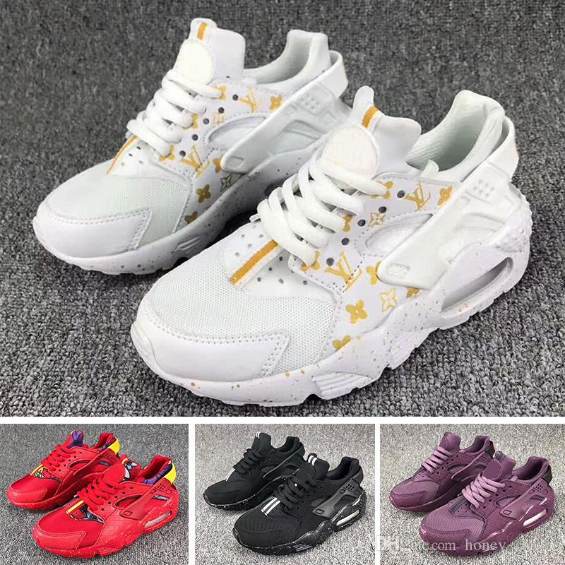 d6abe83cfd8b1 Acheter Nike Air Huarache 2018 New Air Huarache Infant Baby Enfants  Chaussures De Course