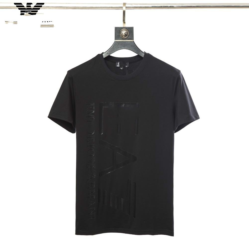 T Shirts For Men Summer Clothes Color Mens Short Sleeved Ice Silk