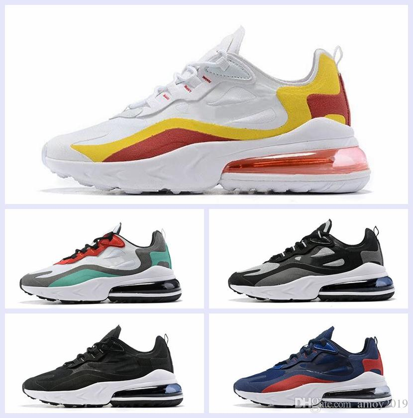 2019 Newest 27c React Fashion Athletic Men Running Shoes Jogging Outdoor Sports Mens Trainers Designer Sneakers Size 7-12 des chaussures