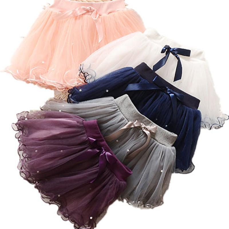 ab2de1663b 2019 Fashion Baby Girls Skirts Princess Tutu Skirts Dance Party Performance  Mini Skirt 2018 New Cute Bow Pearl Kids Girl From Flowter, $25.13 |  DHgate.Com
