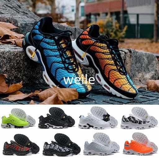 2019 New Tn Plus Greedy OG Running Shoes For Men Tns Plus TN Se Just ... b36ab62cc