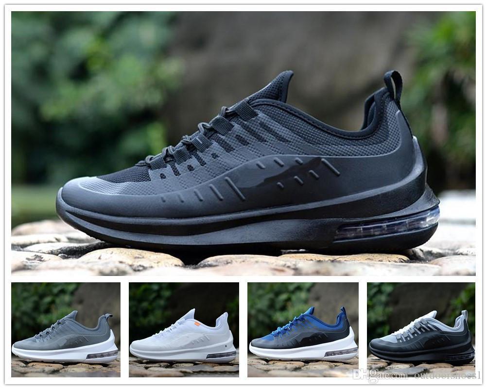 49079ad0d Compre Nike Air Max Airmax 98 Diseñador Axis 98 Hombres Mujeres Zapatos  Corrientes Triple Negro Blanco Fresco Gris Oreo Azul Oliva Entrenador  Barato ...