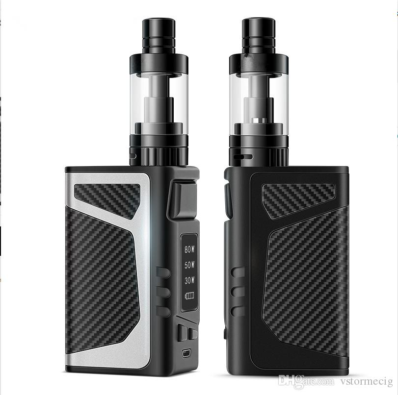 Big Vapor Box Mod 80W With 0.5ohm Resistance 2000mah Built in Battery No Leakage Better Taste electronic cigarette mods 80w