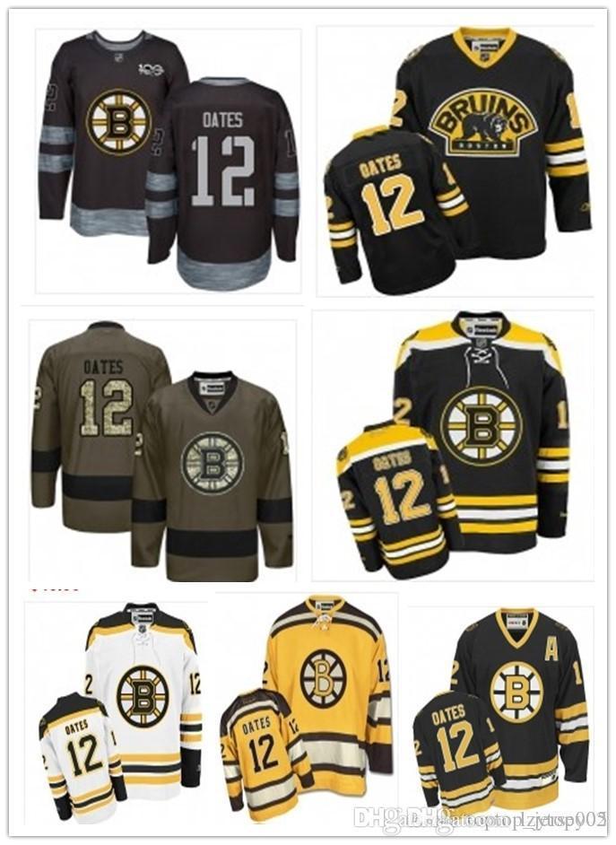 new style 7ba06 9bb2d 2018 can Boston Bruins Jerseys #12 Adam Oates Jerseys men#WOMEN#YOUTH#Men s  Baseball Jersey Majestic Stitched Professional sportswear