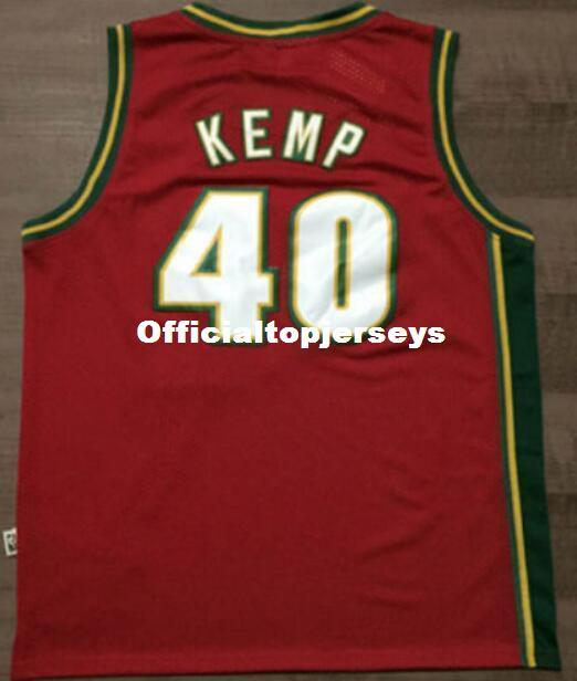1bddb97ea ... spain 2019 cheap top 40 shawn kemp jersey mitchell ness retro mens  stitched white green red