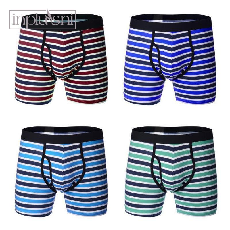 14358479b2e667 Inplusni Shorts Mens Underwear Soft Boxers Cotton Boxer Men Solid Boxer  Shorts Plus Size Boxers Mens Underwear 2Pcs\lot