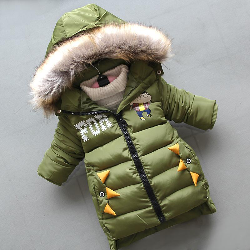 0be9603f023 good quality boys warm jackets 2019 winter children boys cartoon hooded  snowsuits fashion sports tops toddler brand down parkas