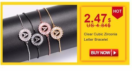 Pipitree Multi Cubic Zirconia Tenis Pulsera Brazalete para Las Mujeres de Cobre Ajustable Cadena Charm Pulsera Joyería Pulseras Mujer