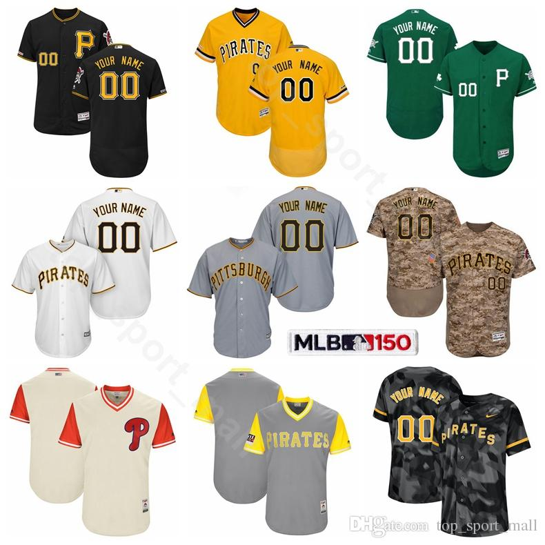 new style 8c0e4 a7039 Pittsburgh Baseball Pirates 12 Corey Dickerson Jersey 34 Trevor Williams 59  Joe Musgrove 50 Jameson Taillon 53 Melky Cabrera Custom Name