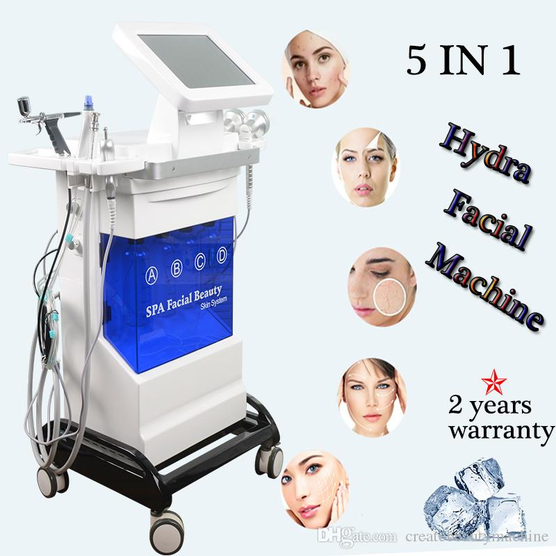hydrofacial Bio-lifting Spa Facial Machine RF needle acne scarring laser Skin whitening and rejuvenation beauty product
