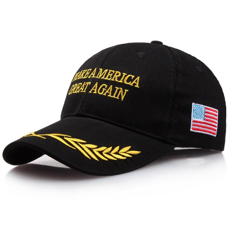 c1120eabd 2020 Donald Trump Keep America Great Campaign Embroidered USA Hat Baseball  Bucket Trucker Cap With US America Flag