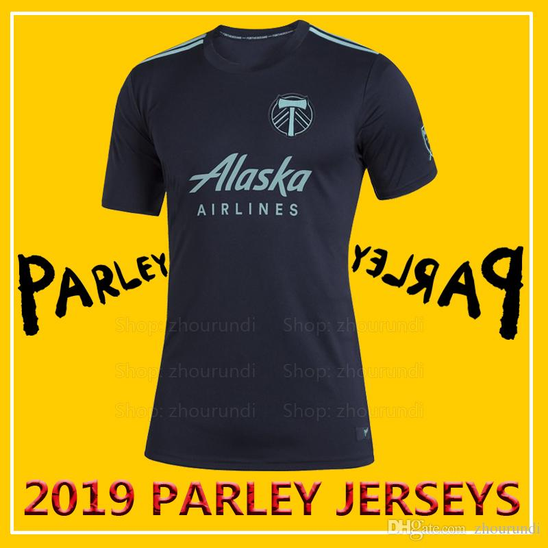 online store 81920 ce469 2019 Portland Timbers Parley soccer jerseys VALERI jerseys 2019 Portland  Timbers x MLS x Parley eco-friendly jersey Running Jerseys XXS-4XL