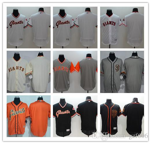 45d40235004 Custom Men s Women Youth Majestic San Francisco Giants Jersey ...