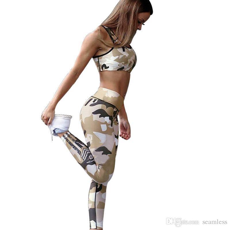 557876bfb883f8 ... Women Yoga Pants Elastic Sport Camouflage Leggings 3D Print Thin Fleece  Slim Capris Quick Dry Trouser Skinny Gym Jeggings From Seamless, $4.58    DHgate.