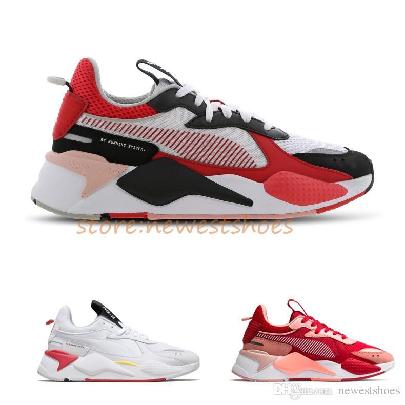 8d93fa9ceaa Compre Nuevo RS X Toys Reinvention Rs Running System Blanco Rojo Negro Azul  Amarillo Papá Zapatos Zapatillas Deportivas De Moda Zapatillas Deportivas  Para ...