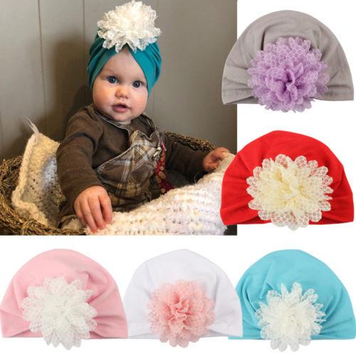 2019 Princess Toddler Newborn Baby Girls Headwear Kids Daisy Flower Hats  Caps Fashion Multicolor Headdress Covers From Fkansis 777a9c801a4