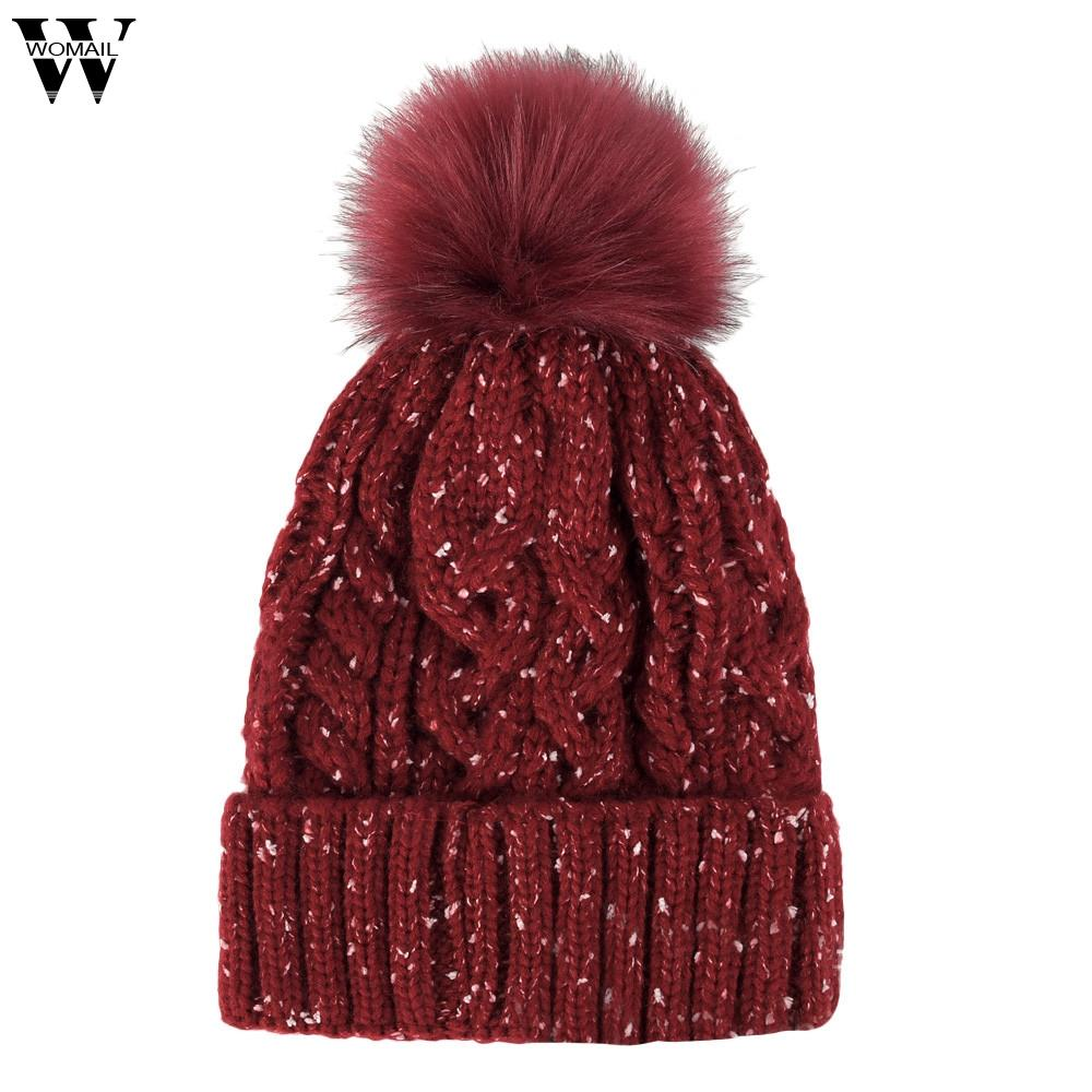 New Hats Adult Unisex Autumn And Winter Ideas Yarn Ball Knit Hat Flower  Wool Cap Fashion Accessories Hats 2018 Nov2 Cap Shop Knitted Hat From  Naixing 4de5a7647