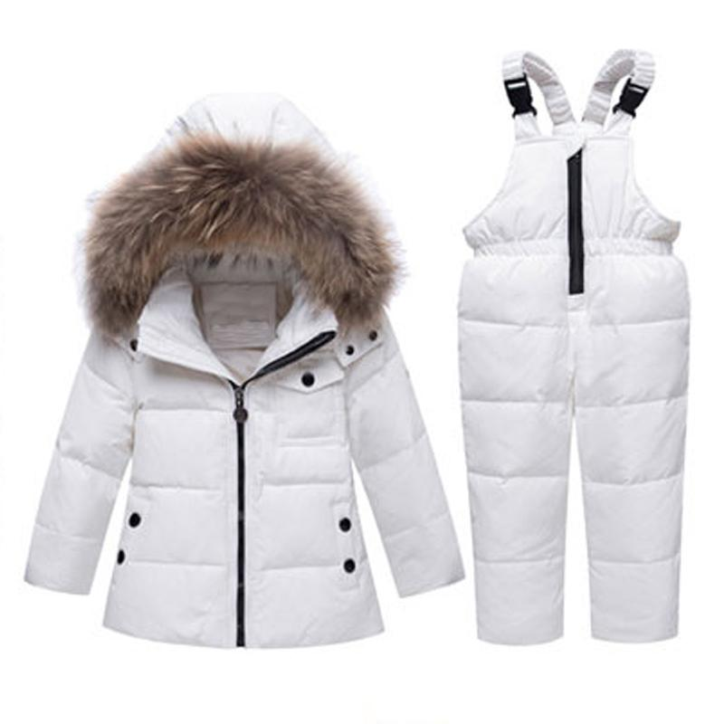 2572f6b9e 2019 Baby Boy Girl Winter Jacket Down Clothing Set Coat For Kids ...