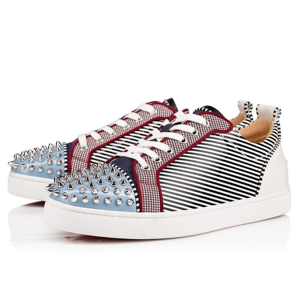 d646a8fe3 Beertola Luxury Fashion Men Shoes Flats Bottom Mixed Color Zebra Patch  Unisex Sneakers Round Toe Lace Up Casuals Shoes Homme Green Shoes Most  Comfortable ...