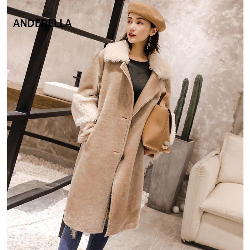 Mujeres Piel 2018 De Cordero Abrigo Compre Real Fur Natural xpO8Z