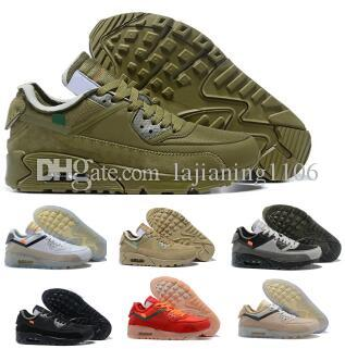 da74f34d 2019 90 Off Running Shoes Sneakers Mens Man Desert Ore Brown Maxing Fashion  Designers Luxury Classic 90s Zapatos Training Sports Shoes Shoes Men Tennis  ...