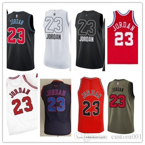 reputable site 641a8 6389e custom 2019 Chicago Bull Jerseys #23 Michael Jr Jerseys  men#WOMEN#YOUTH#Men's Baseball Jersey Majestic basketball jersey