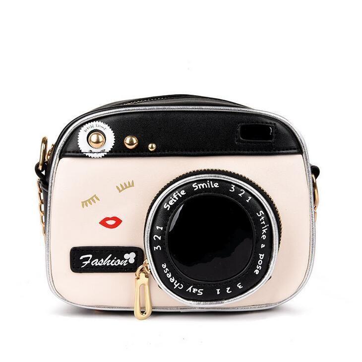75d44e72ce77 Summer Fashion New Handbags 2019 High Quality Pu Leather Women Bag Retro  Fashion Camera Bag Chain Shoulder Messenger Female Bag Handbags For Women  Mens ...