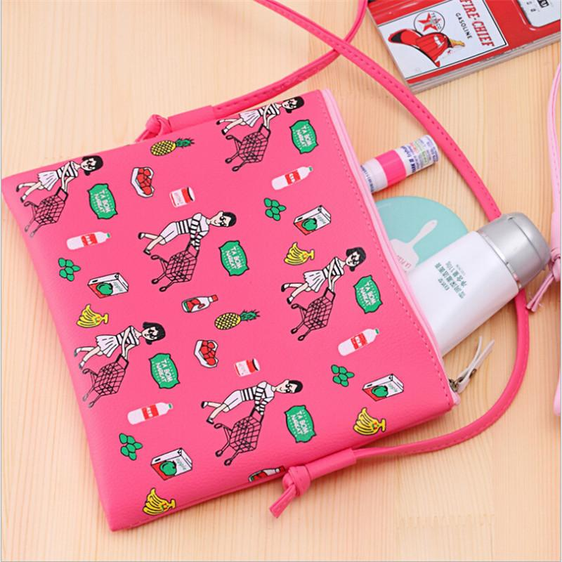 947aae36c279 Cheap LKEEP Fashion Cartoon Printed Women Graffiti Handbag Mini Crossbody  Shoulder Bag Ladies Casual Purses Clutches Girls Handbag Black Handbags  Weekend ...