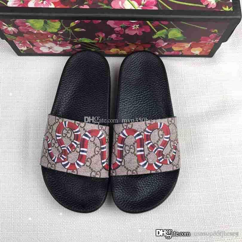 bba05cd83eb1 2017 Mens And Womens Fashion Causal Slippers Boys  Girls Tian Blooms Print  Flower Slide Sandals Unisex Outdoor Beach Flip Flops Size 34 45 Womens  Trainers ...