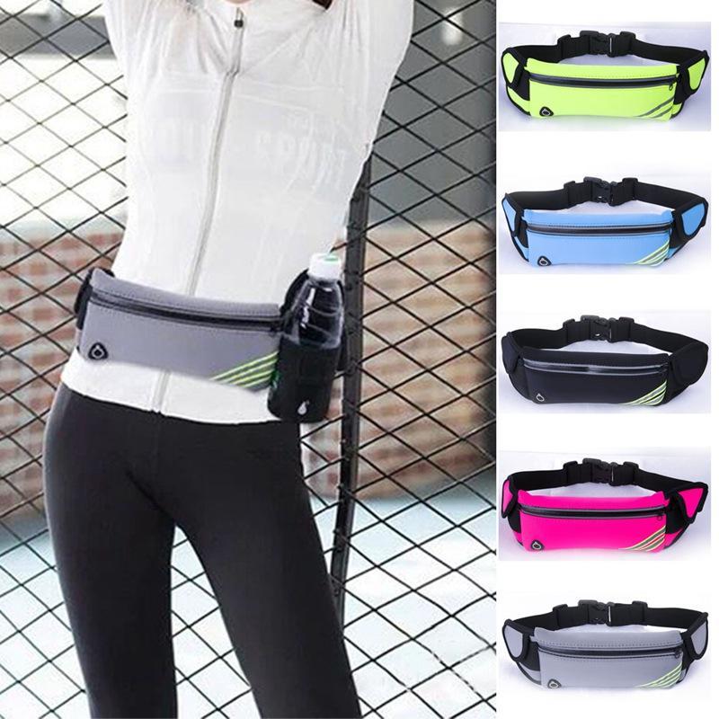 Relojes Y Joyas Professional Running Waist Pouch Belt Sport Belt Mobile Phone Men Women With Hidden Pouch Gym Bags Running Belt Waist Pack