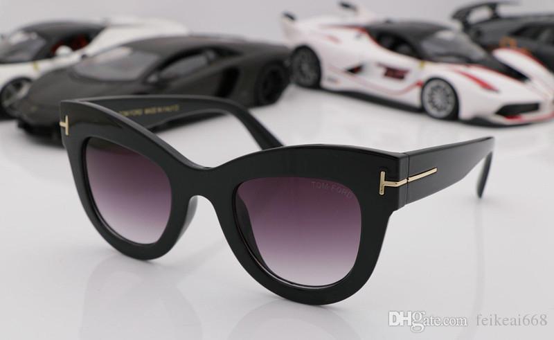 2c372f34459 Luxury Top Qualtiy New Fashion 0612 Tom Sunglasses For Man Woman ...