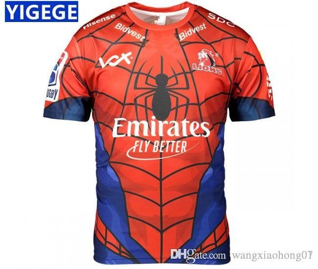 8667586ad1a 2019 LIONS 2019 SUPER RUGBY MARVEL JERSEY 2019 19 New Super Rugby ...