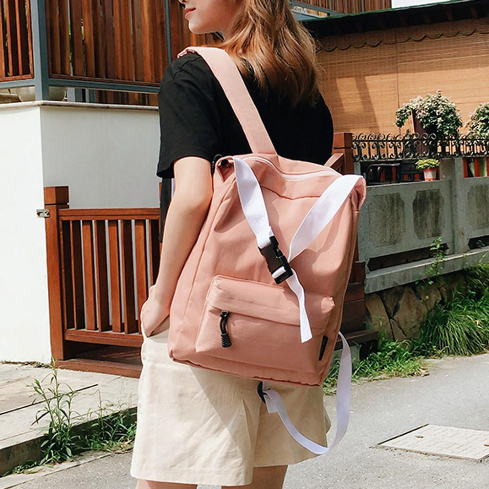 76687e535 2019 New Fashion School Bag Women Canvas Backpack Large Capacity Girls  Laptop Backpack School Shoulder Bags Female Mochila Rolling Backpack  Toddler ...