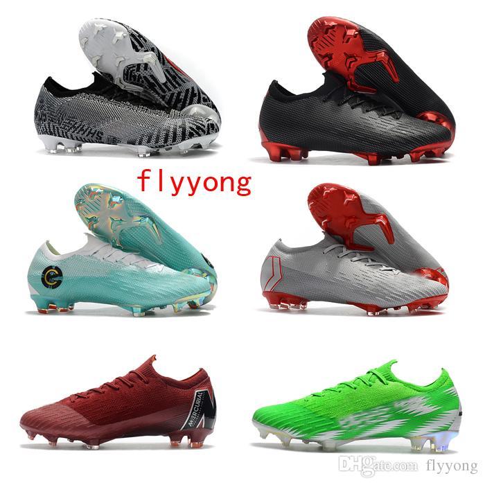 premium selection 53e2a 7c4ed 2019 Mercurial Superfly VI 360 Elite FG AG EN KJ 6 XII 12 CR7 Ronaldo  Neymar Hombres Mujeres Niños Fútbol Zapatos 20 Botas De Fútbol Botines Por  Flyyong, ...