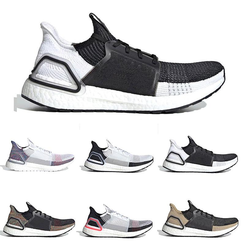 ce6d23cce 2019 Ultra Boost 19 Running Shoes Training Women Panda Cloud White Active  Bat Orchid Ultraboost Breathable Sports Designer Men Sneakers Online with  ...